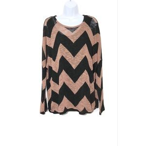 NWT Chelsea & Theodore Printed Pullover Sweater